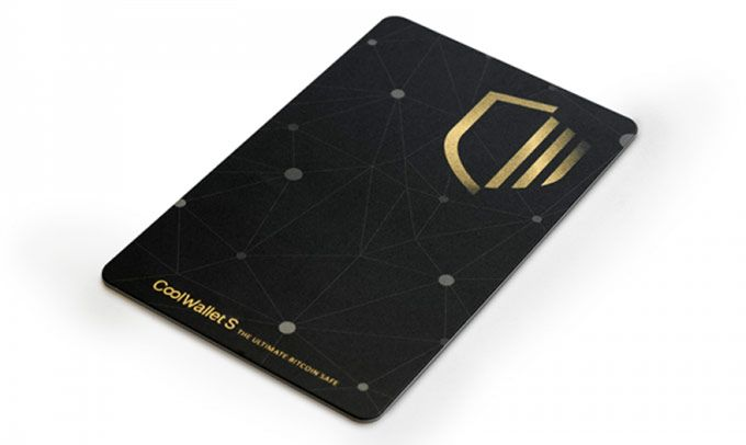 Recenzie CoolWallet S: card.