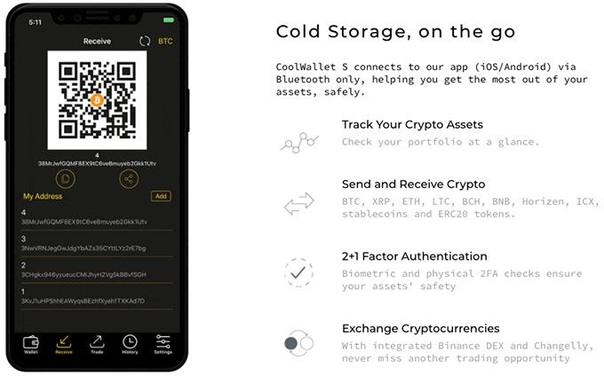 Recenzie CoolWallet S: caracteristici.