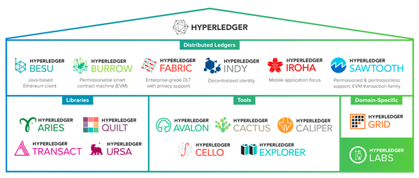 Sera Hyperledger a inclus mai multe proiecte bazate pe Ethereum Sursa https www hyperledger org projects