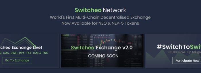 switcheo neo dapp exchange